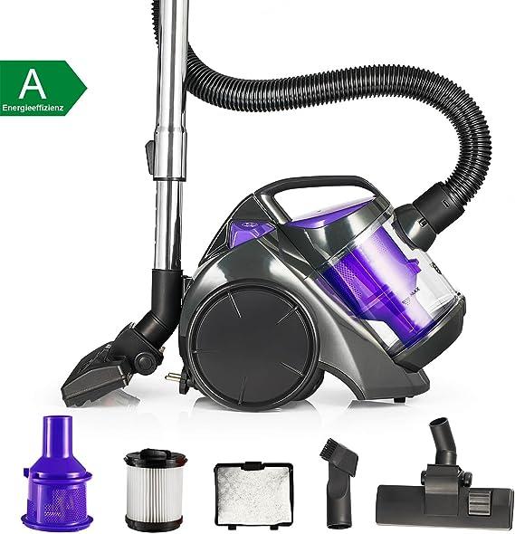Balter Vento A2 – Aspiradora ciclónica sin bolsa Aspiradora HEPA – Aspirador ciclónico filtro Incluye Accesorios Color Púrpura: Amazon.es: Hogar