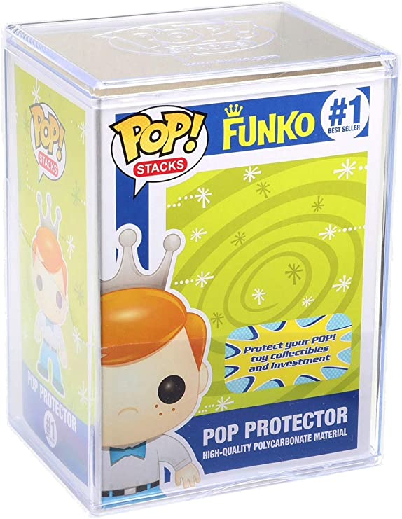 Funko Pop Stacks: Plastic Protector Case with Interlocking Lid #6520 (2-Pack): Amazon.es: Juguetes y juegos