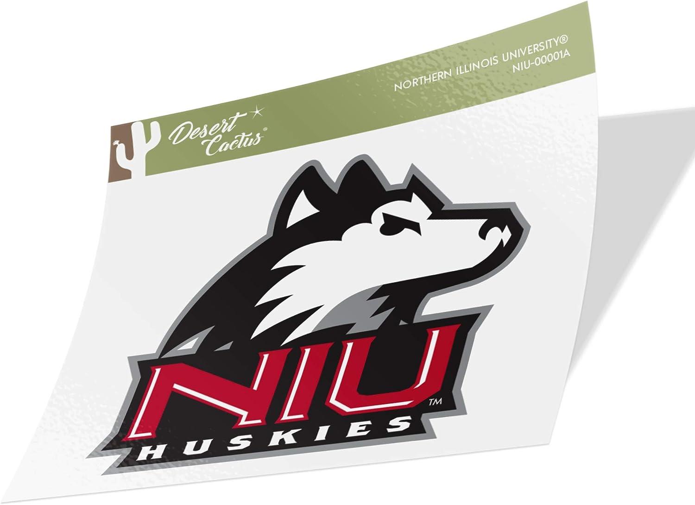 Northern Illinois University NIU Huskies NCAA Vinyl Decal Laptop Water Bottle Car Scrapbook (Sticker - 00001A)