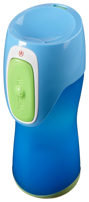 Contigo Runabout Kids - Botella antiderrame para niños, color morado claro con botón rosa, 300 ml: Amazon.es: Deportes y aire libre