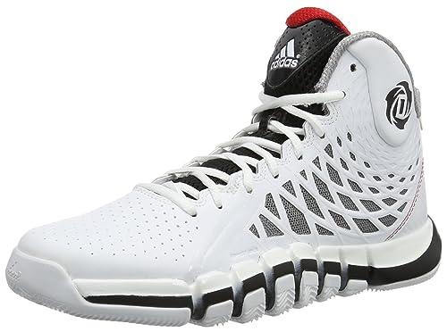 best sneakers 22390 76707 adidas Performance DERRICK ROSE 773 II Zapatillas Baloncesto Blanco Negro  para Hombre SprintWeb  Amazon.es  Deportes y aire libre