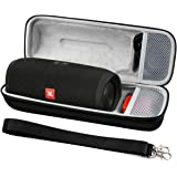 COMECASE Carrying Case Storage for JBL Charge 3 JBLCHARGE3BLKAM Waterproof Portable Bluetooth Speaker. Fits USB Cable and Cha
