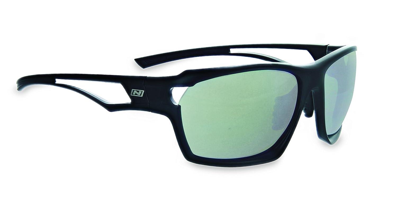 Optic Nerve variantp、ツートンカラーブラックフレーム、2-lensセット:偏光煙または銅withシルバーミラー   B079HX324S
