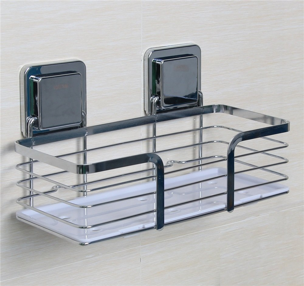 ca steel stainless expandable chrome home zenith kitchen dp head shower caddy amazon handheld