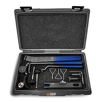 EWK Juego de herramientas para correa de distribución de TDI VW Audi: Amazon.es: Coche y moto