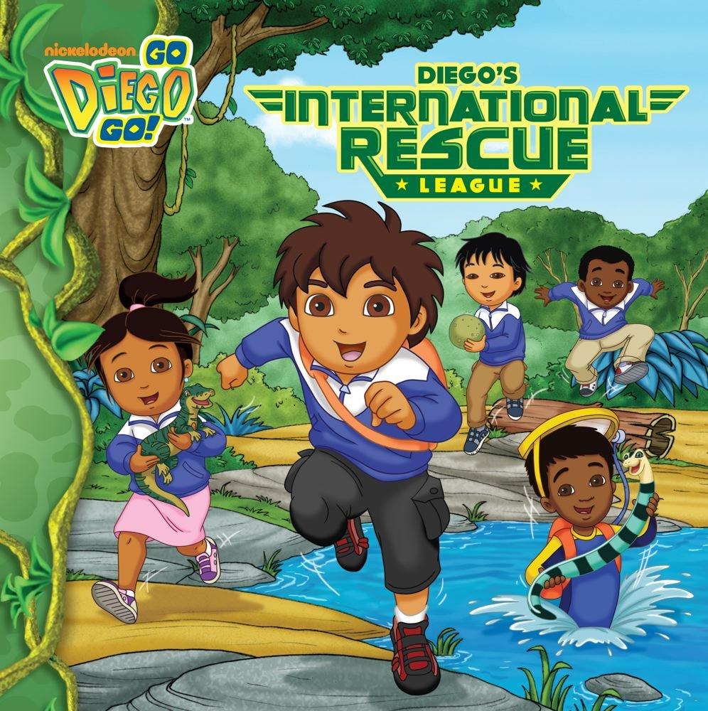 Read Online Diego's International Rescue League (Go, Diego, Go!) pdf epub