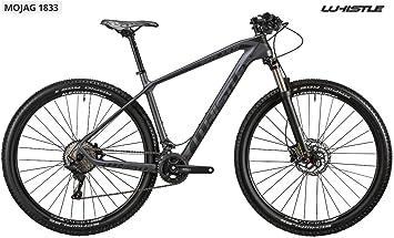Bicicleta 29 Whistle Mojag 1833 monoscocca de carbono 11 V, Black ...