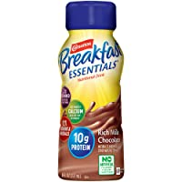 Carnation Breakfast Essentials Ready-to-Drink, Rich Milk Chocolate, 8 Ounce Bottle...