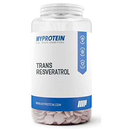 MyProtein Trans-Resveratrol Antioxidante - 60 Tabletas