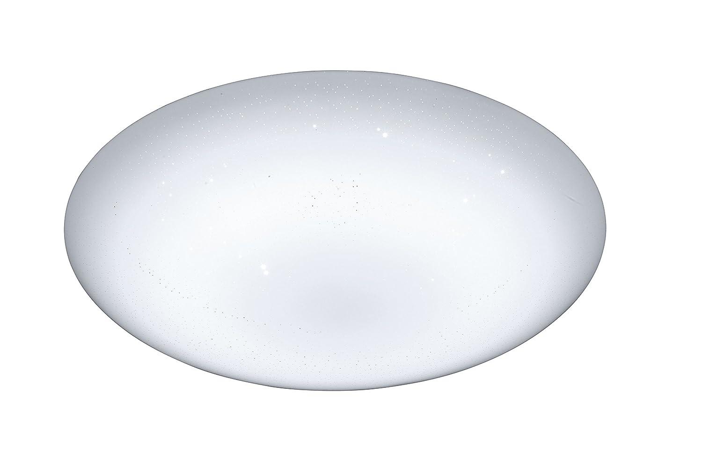 WOFI LED Ceres Deckenleuchte, Kunststoff, weiß weiß weiß b1db63