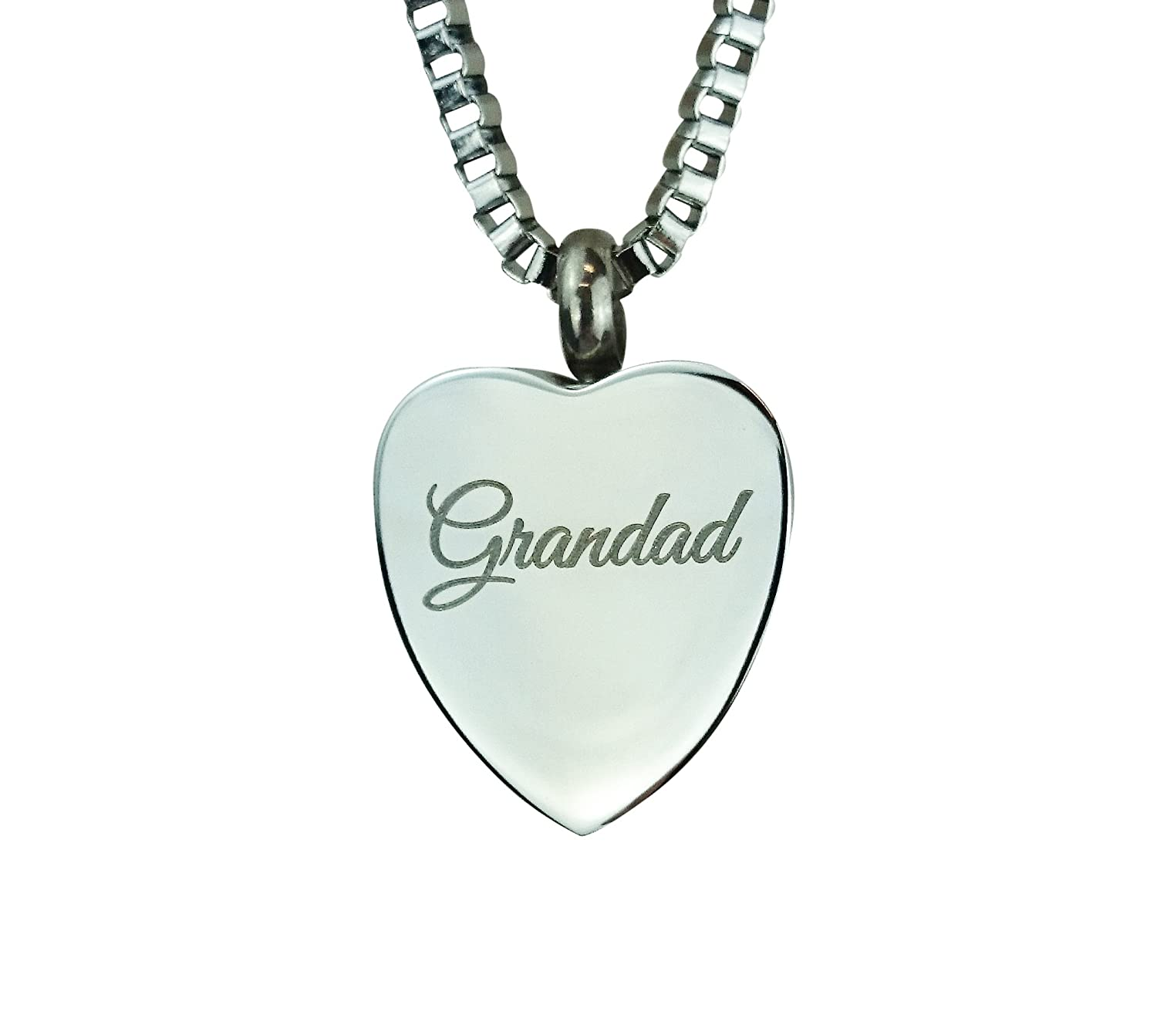 glass rae sterling cremation memorial tammy necklace ash charm product