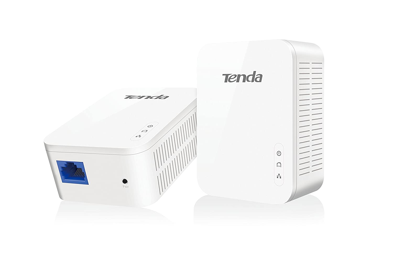 Tenda AV1000 1-Port Gigabit Powerline Adapter, Up to 1000Mbps (PH3)