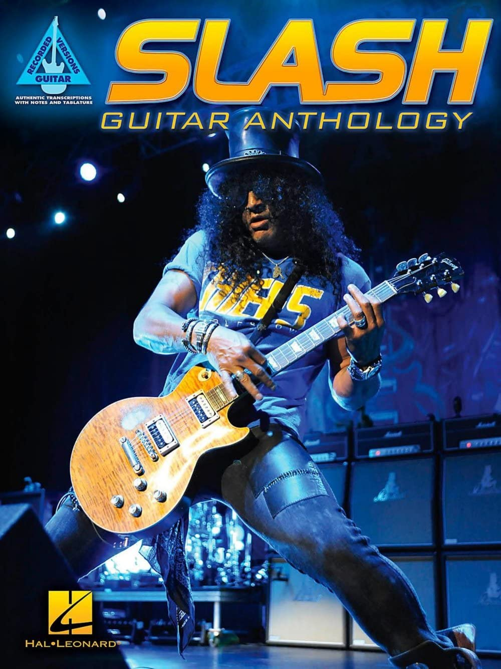 Hal Leonard Slash - Guitar Anthology Guitar Tab Songbook: Amazon ...