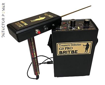 Amazon.com : Britbe G3 Pro Long Range Metal Detector ...