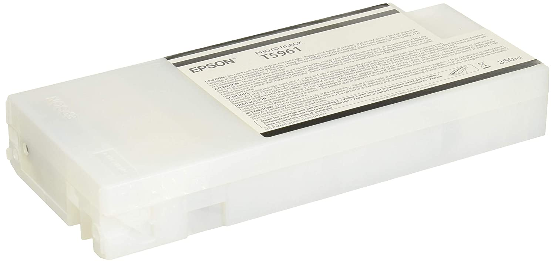 Epson UltraChrome HDR Ink Cartridge - 350ml Photo Black (T596100)