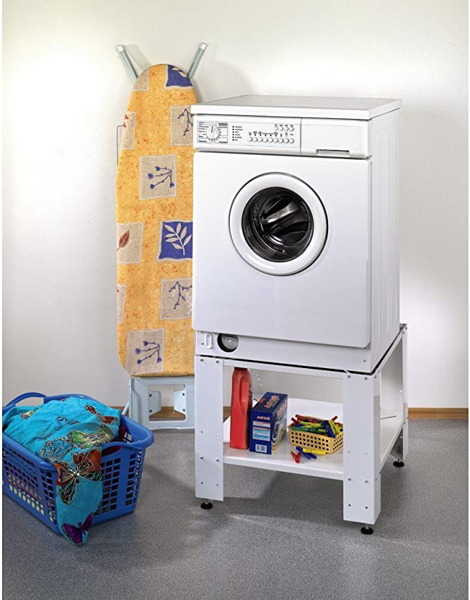 Xavax 00111343 - Base universal con estante inferior para lavadora ...