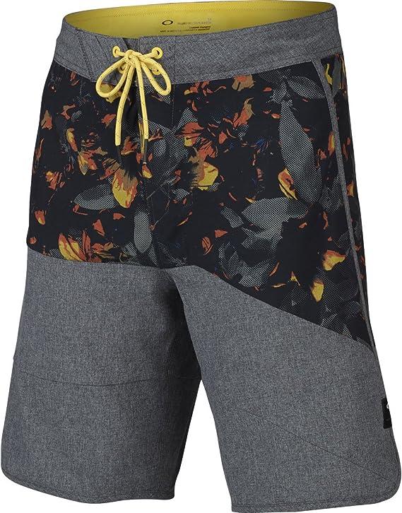 Horizon-t Beach Shorts A Flower Skeleton Mens Fashion Quick Dry Beach Shorts Cool Casual Beach Shorts