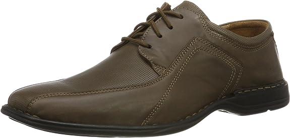 TALLA 45 EU. Josef Seibel Spike, Zapatos de Cordones Derby Hombre