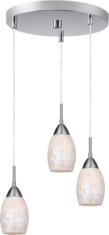Woodbridge Lighting 13223MEB-M20RDD Venezia 1-Light Mini-Pendant Metallic Bronze