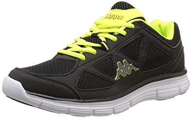 Umberte Black Shoes Acid Running Green5 Noirblack 5 Kappa Men's wOXTlZiPku