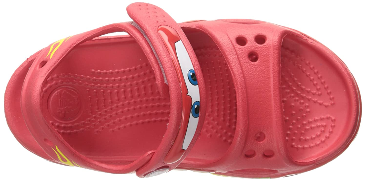 33fe01f7d7ff11 crocs Boy s Crocband II Cars PS AS Red Rubber Sandals and Floaters - C11   Buy Online at Low Prices in India - Amazon.in