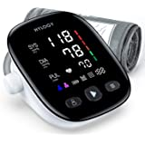 Blood Pressure Monitor Upper Arm, HYLOGY Large LED Display Adjustable Blood Pressure Cuff 2-Users Mode 180 Reading Memories Support Type-C Charge