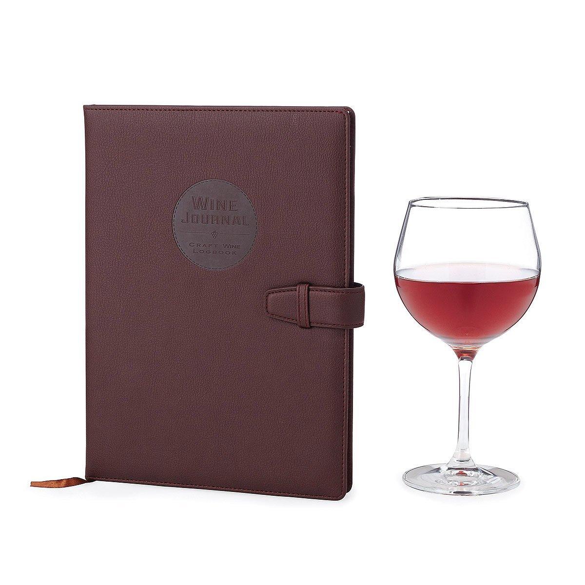 Wine Making Journal | Space for 70+ wine recipes, Wine Glasses, Wine Colors, Wine Bottles, Yeast Strain Information, Wine Label Breakdown |