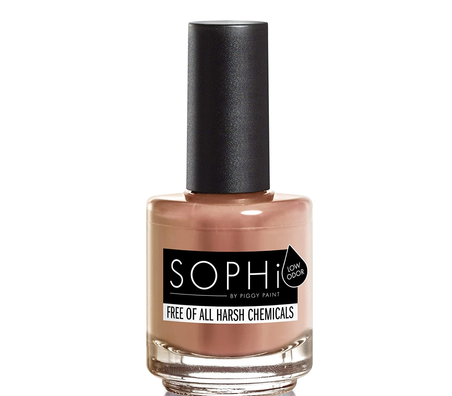 SOPHi Nail Polish, Skinny Dip Plus Chips, Non Toxic, Safe, Free of All Harsh Chemicals - 0.5 Fluid Ounce