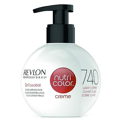 REVLON PROFESSIONAL Nutria Color Crema 740 Luz Cobre 270 ml