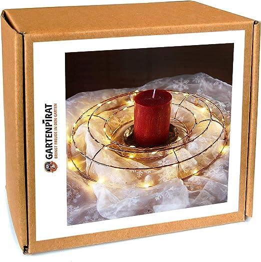 Türkranz Holz LED Beleuchtet 30 cm Innen
