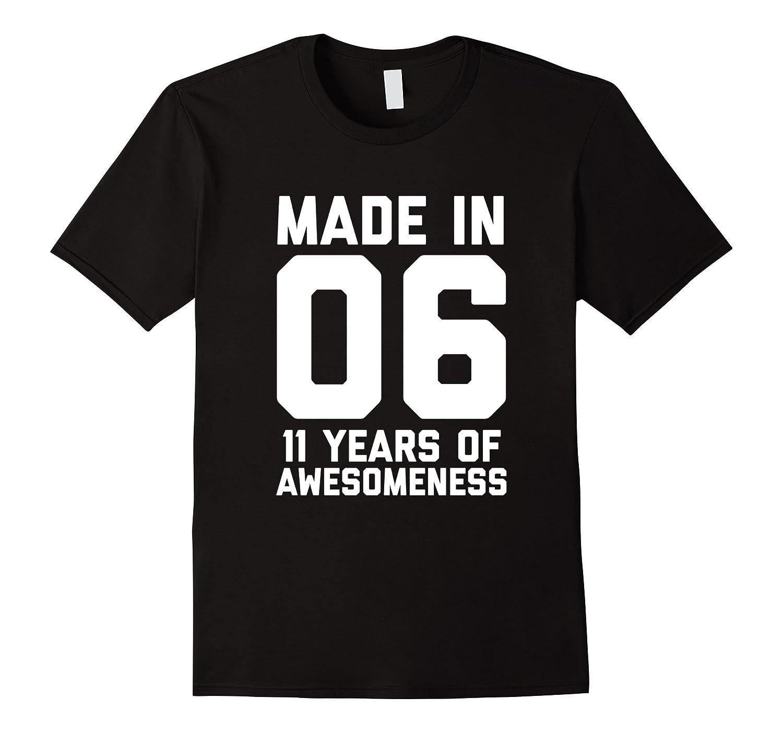11th Birthday Shirt Gift Age 11 Year Old Boy Girl Tshirt Tee ANZ