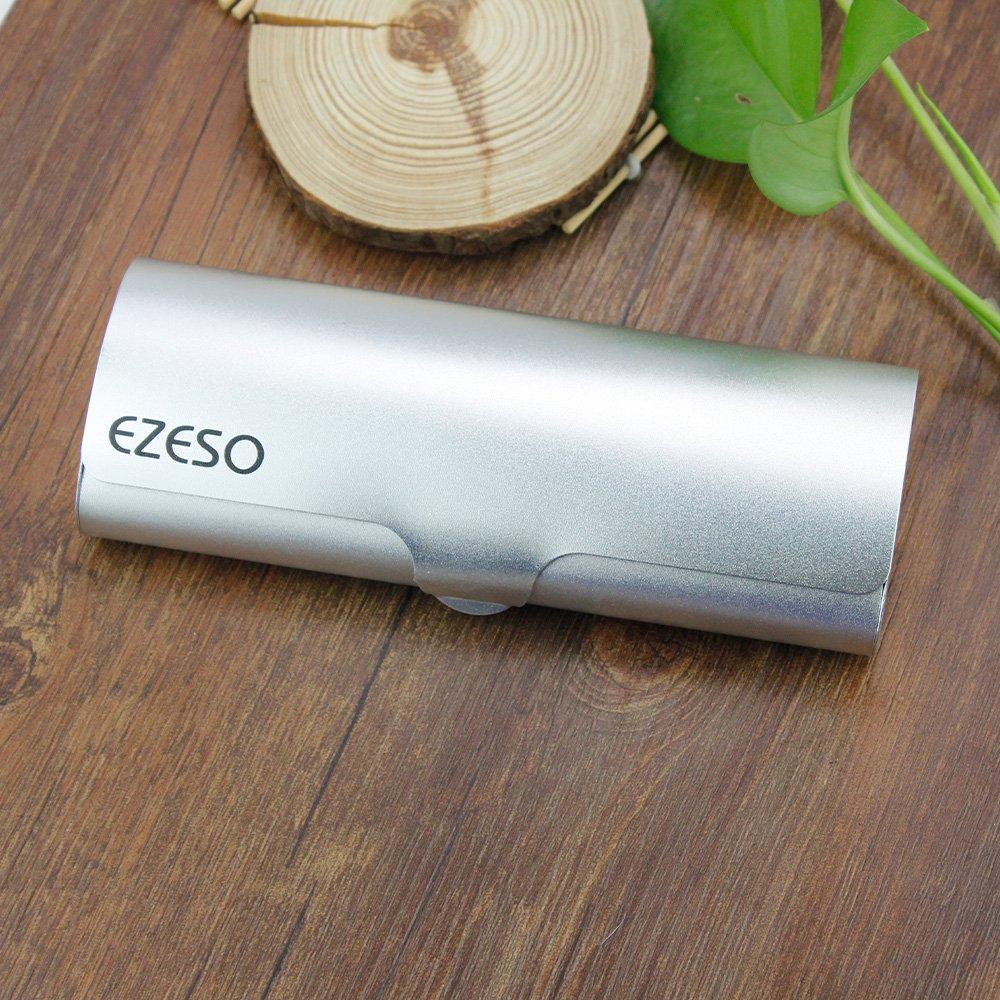 EZESO Glasses Case Spectacle Case Box Aluminum Frosted Matte Eyeglass Case