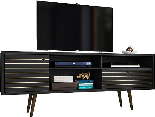 Manhattan 202AMC8 Comfort - Mueble para televisor (tamaño grande), color negro: Amazon.es: Juguetes y juegos