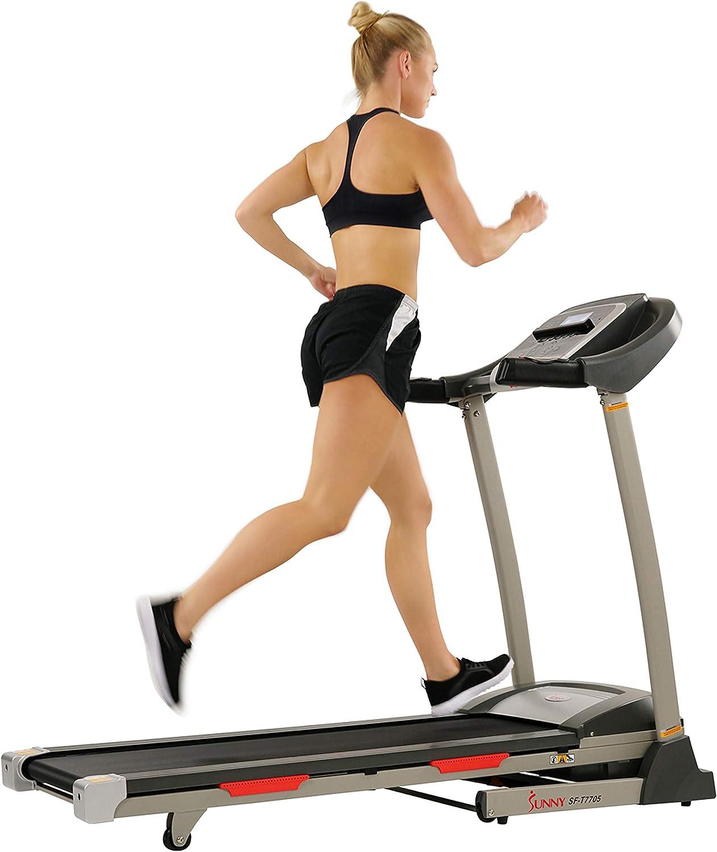 Sunny Health & Fitness Portable Treadmill