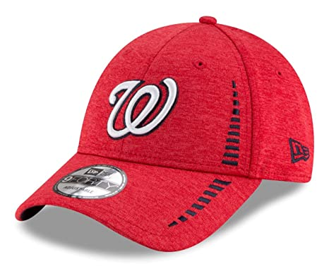 5a05eb3fa566c Image Unavailable. Image not available for. Color  New Era Washington  Nationals 9Forty MLB Shadow ...