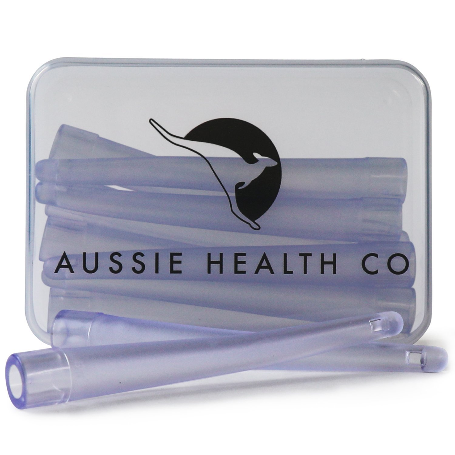 AUSSIE HEALTH CO Enema Bag, Bucket & Bulb Kit Nozzle Tips (Box of 10) - BPA/Phthalates Free, Flexible, Soft and Comfortable PVC by AUSSIE HEALTH CO