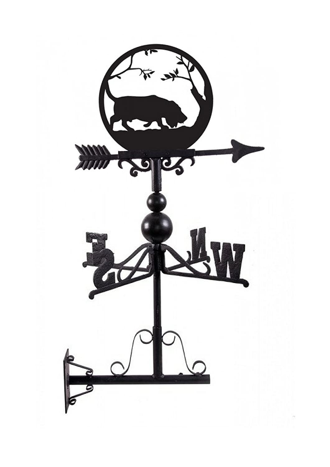 Black Country Metal Works Handmade Cast Iron Dog Weathervane - 14 Breeds Available! (Beagle)
