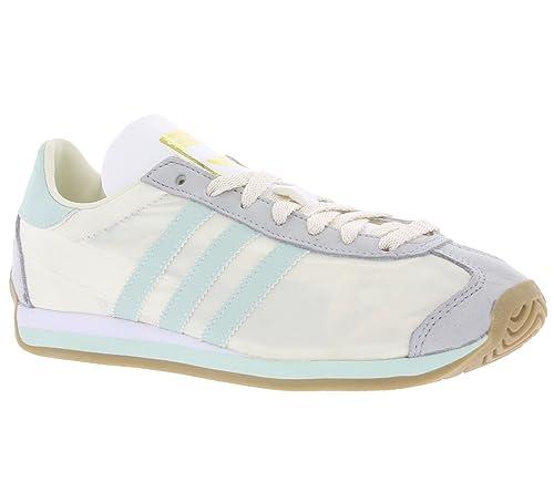 brand new 57bf4 0f56e adidas Country og w Sneaker da Donna, Bianco (Bianco Turchese), 42 23 EU  Amazon.it Scarpe e borse