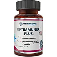 OPTIMMUNER Plus - Immune System Booster – 100% Natural Supplement - Real Improvements...