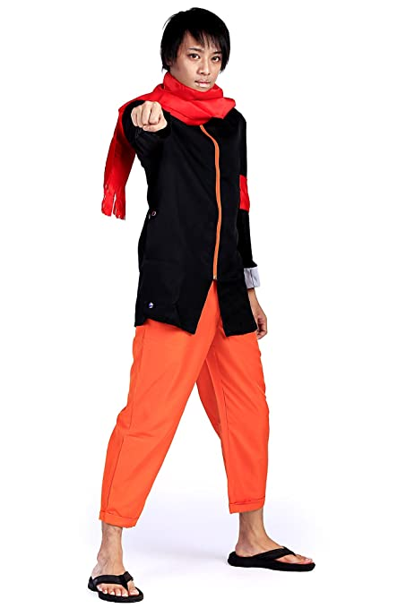 De-Cos Cosplay Costume Hidden Leaf Ninja/Shinobi Uzumaki ...