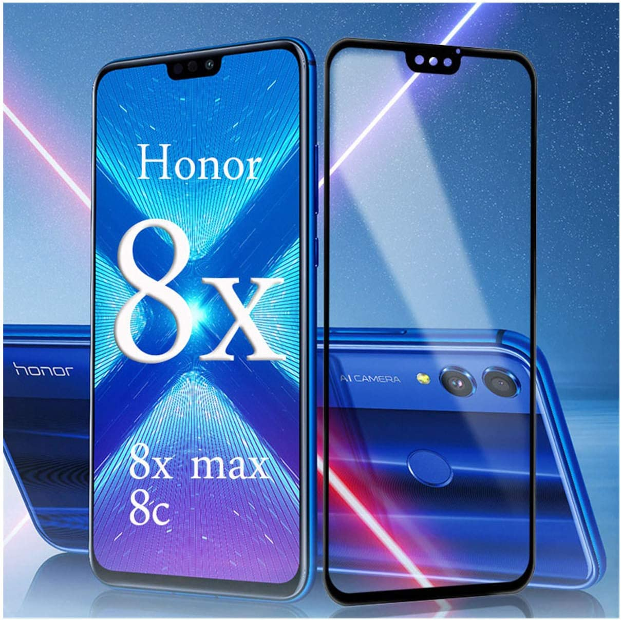 LZHANDA Protectores de Pantalla Protective Glass On For Honor 8X ...