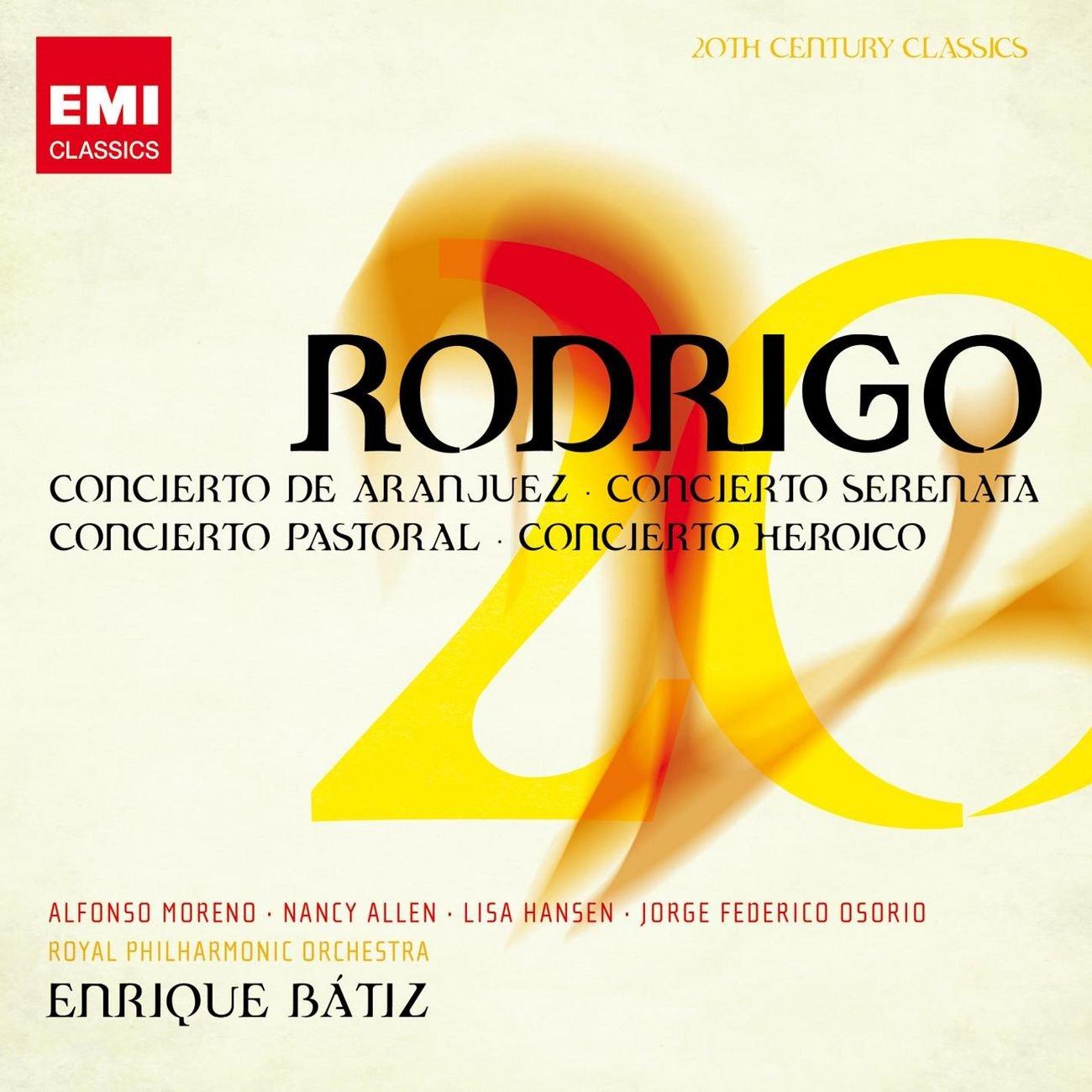 Amazon.com: Rodrigo: Concierto de Aranjuez, Concierto ...