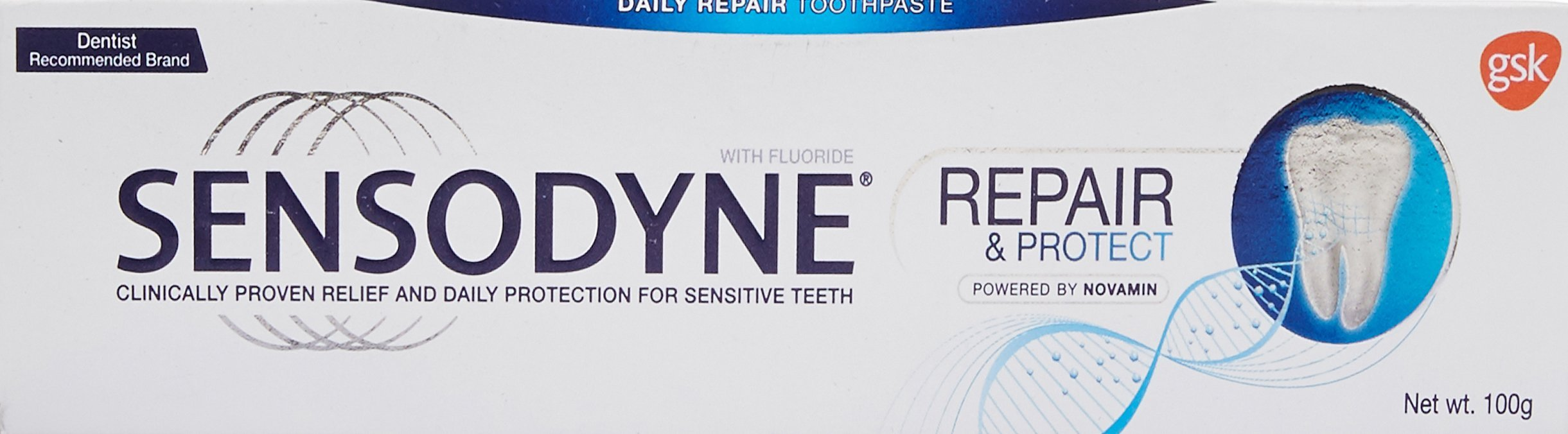 Sensodyne Sensitive Toothpaste Repair & Protect - 100 g product image