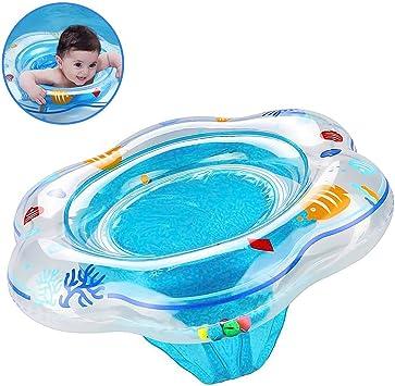 Anillo para nadar con flotador para bebés, flotador inflable con ...