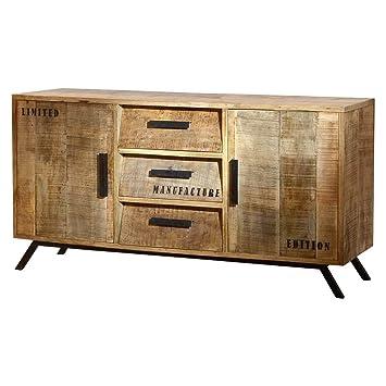 Sideboard Anrichte Kommode Romsdal Retro Vintage Design Massivholz