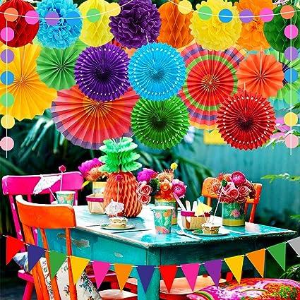 Polka Dot Bunting Multi Colour