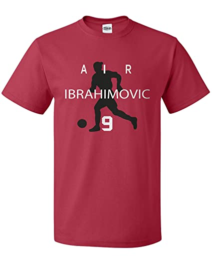 c633cc7ee7b Zlatan Ibrahimovic Manchester United Soccer Fan  quot Air Ibrahimovic quot   T-Shirt (Adult