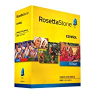 Rosetta Stone Spanish (Latin America) Level 1-5 Set - includes 12-month Mobile/Studio/Gaming Access