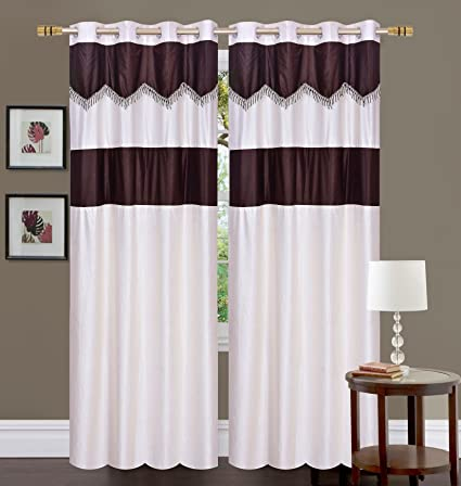 buy fresh from loom 1pc new design polyster window curtain 5ft rh amazon in new curtain design 2017 in pakistan new curtain design images