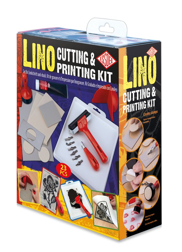 Essdee Lino Cutting & Printing Kit (23 Pieces) L5PKR1